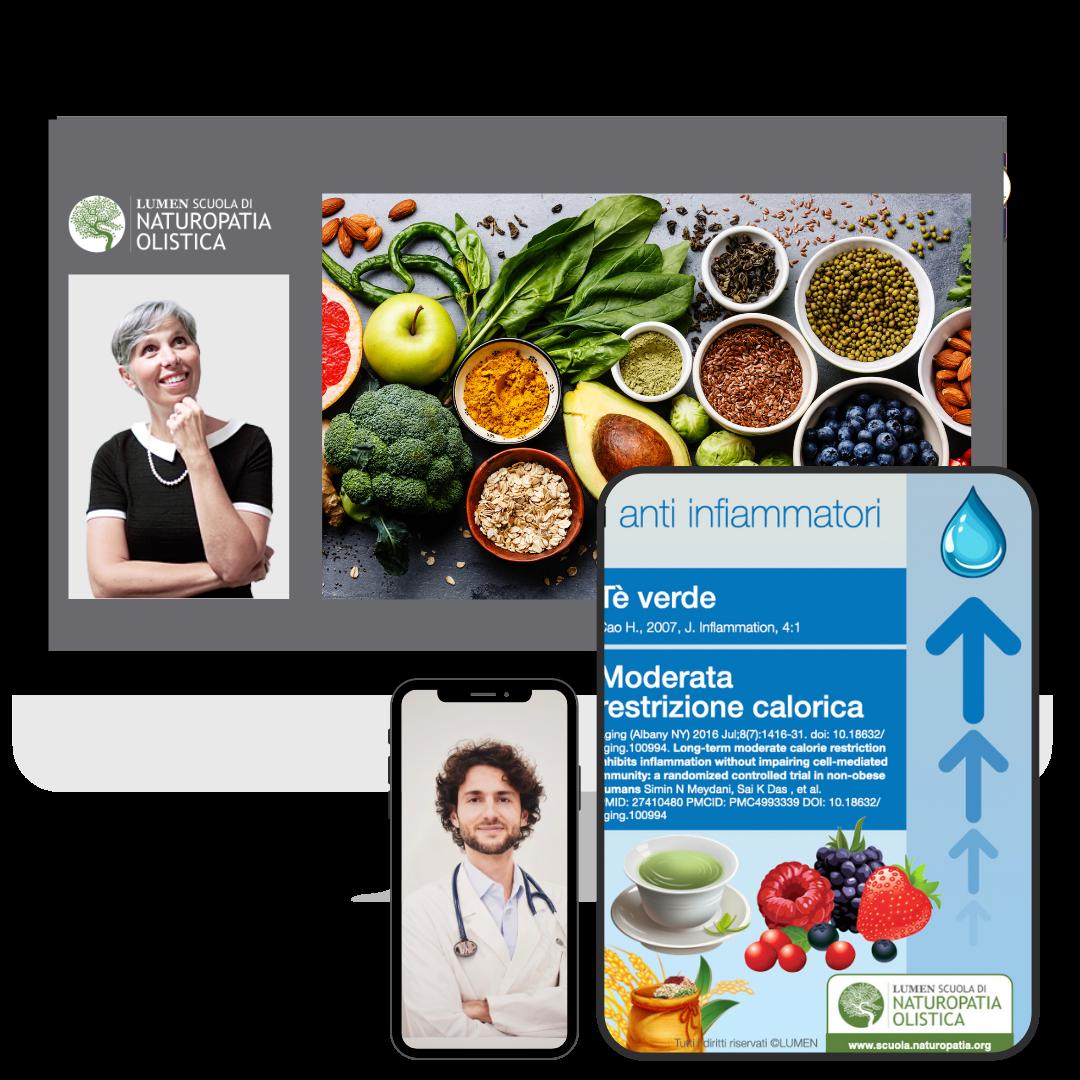 alimentazione e longevità sana